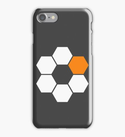 Robocraft Logo (White) iPhone Case/Skin