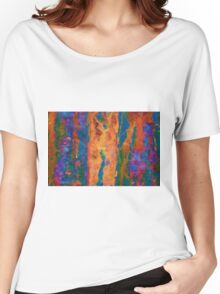 Color Abstraction LXVI Women's Relaxed Fit T-Shirt