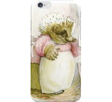Mrs Tiggywinkle Beatrix Potter  iPhone Case/Skin