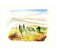 Siena. Italy Art Print