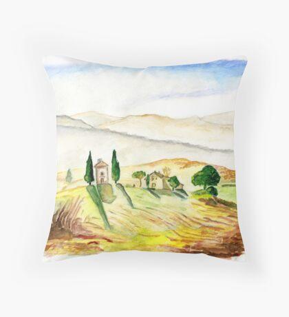 Siena. Italy Throw Pillow