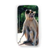 African monkey - Print Samsung Galaxy Case/Skin
