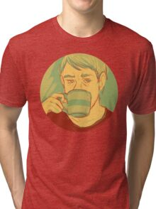 jw: green tea Tri-blend T-Shirt
