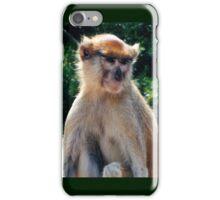 African monkey - Print iPhone Case/Skin