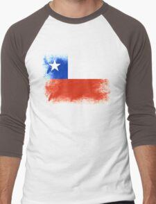 Chile Men's Baseball ¾ T-Shirt