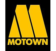 MOTOWN DISCO RECORDS (YELLOW) Photographic Print