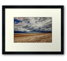 Sky Meets Sea Framed Print