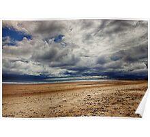Sky Meets Sea Poster