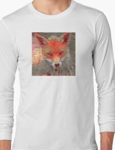 Sly Red Fox  Long Sleeve T-Shirt