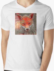 Sly Red Fox  Mens V-Neck T-Shirt