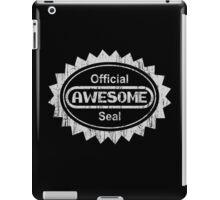 Official Awesome Seal - Aged Version  iPad Case/Skin