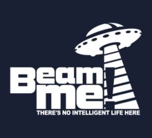 Beam me up V.3.2 (white) Baby Tee