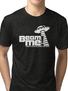 Beam me up V.3.2 (white) Tri-blend T-Shirt