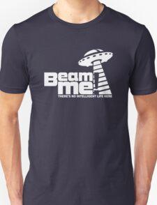 Beam me up V.3.2 (white) Unisex T-Shirt