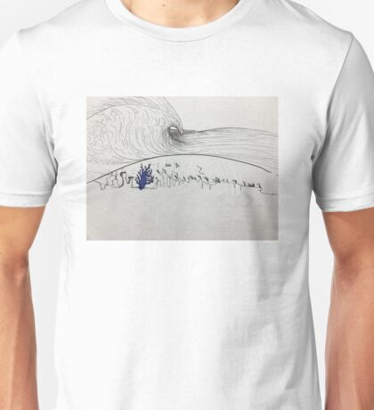 Surreal Reef-break Unisex T-Shirt