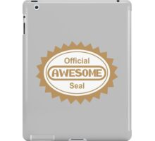 Official Awesome Seal iPad Case/Skin
