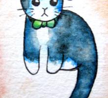 Classy Cat. Sticker
