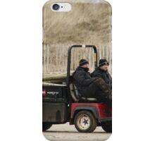 Beach Workers iPhone Case/Skin