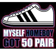 HOMEBOY GOT 50 PAIR (4 of 6) Photographic Print