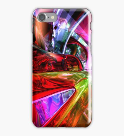 Runaway Color Abstract iPhone Case/Skin