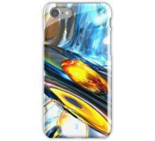 Oscillating Color Abstract iPhone Case/Skin