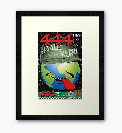 444ties Framed Print