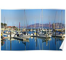 St Francis Harbor Poster