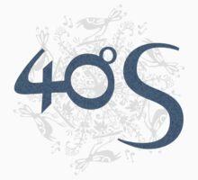 40ºS logotype on Birdwheel background by 40degreesSouth
