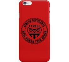 TYRELL CORPORATION - BLADE RUNNER (BLACK) iPhone Case/Skin