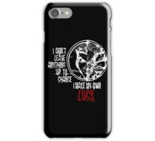 Harvey Dent/Two-Face - Quote (White) iPhone Case/Skin