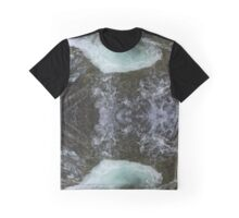 the raging sea Graphic T-Shirt