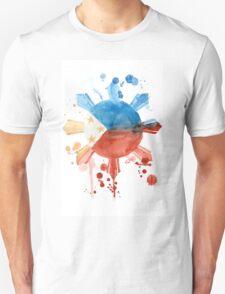 Philippine Flag Inspired Art Unisex T-Shirt