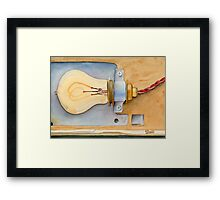 Holding on to an Idea Revisited Framed Print