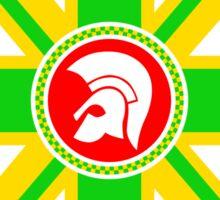 Jamaican Trojan Records Sticker