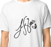 Lauren Jauregui signature - Black text ( New ) Classic T-Shirt