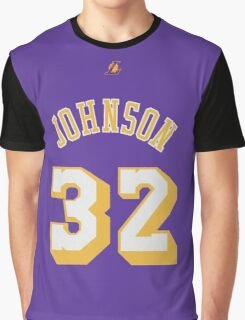 Magic Johnson Graphic T-Shirt