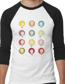 Bright Ideas Men's Baseball ¾ T-Shirt