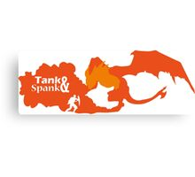 Tank And Spank Canvas Print