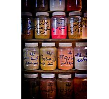 Spice Rack Photographic Print