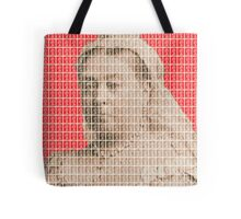 I'm Not Amused - Red Tote Bag