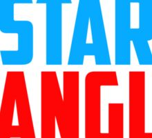 Get Star Spangled Hammered Sticker