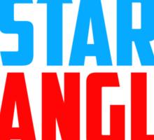 Get Star Spangled Hammered Sticker