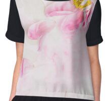 Withered peony Chiffon Top