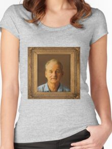 Bill Murray for Prez Women's Fitted Scoop T-Shirt