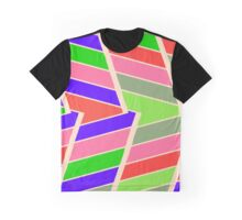 Symmetric distorted rectangles Graphic T-Shirt