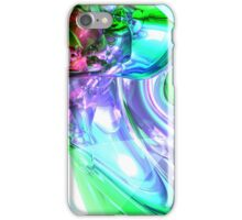 Disorderly Color Abstract iPhone Case/Skin