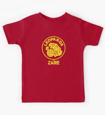 ZAIRE 1974 WORLD CUP Kids Tee