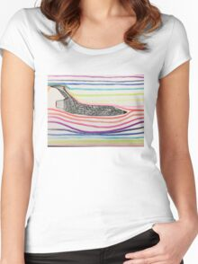 Wind Tunnel Jet Women's Fitted Scoop T-Shirt