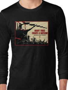 Many Fires Create A Nation Long Sleeve T-Shirt