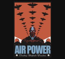 Air Power: Bending Defends Freedom by Crocktees